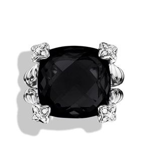 David yurman onyx chatelaine ring!🖤